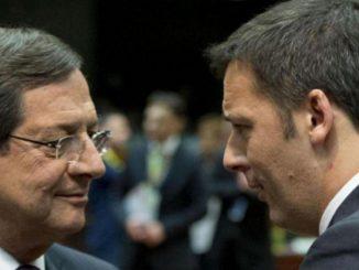 Renzi governo Draghi