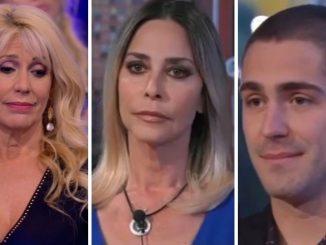 GF Vip, Maria Teresa Ruta: il confronto con Zorzi e Orlando