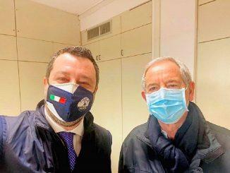 Salvini e Bertolaso