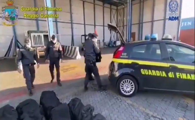 Sequestro di droga al porto di Gioia Tauro