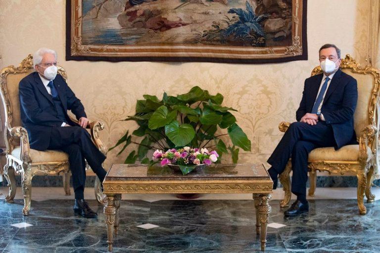 sondaggi italiani governo draghi