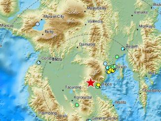 Terremoto nelle Filippine, scossa di 6 gradi sull'isola di Mindanao