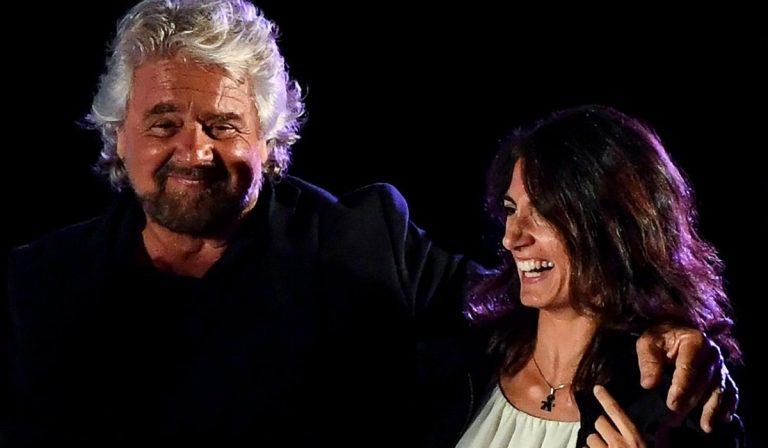 Virginia Raggi Beppe Grillo