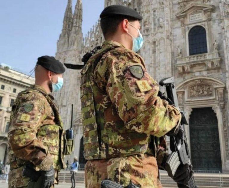 A Pasqua 2021 controlli a tappeto, in campo anche l'esercito