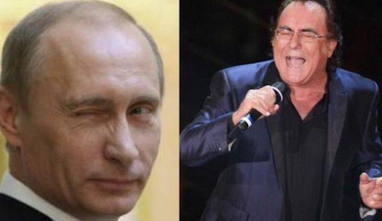 Al Bano Carrisi Putin