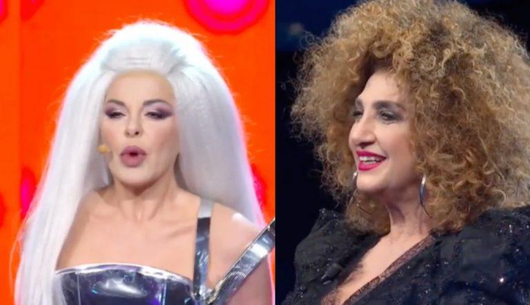 Alba Parietti e Marcella Bella