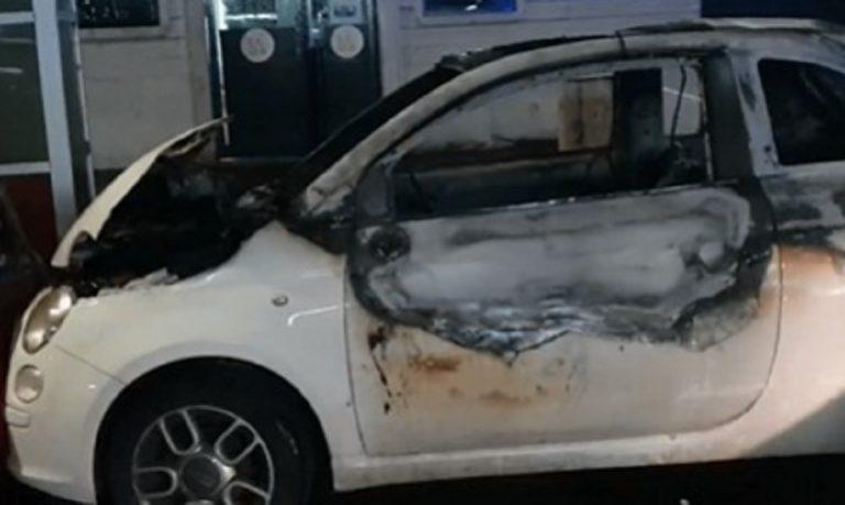 Auto fiamme centocelle