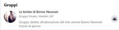 Benno Neumair, creato gruppo su Facebook