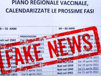 In Lombardia il calendario vaccinale per gli over 60, ma è una fake