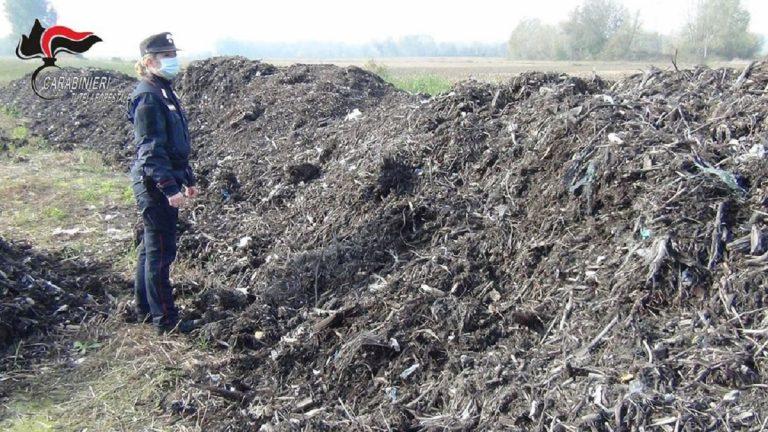 Blitz contro una società che produceva compost inquinato