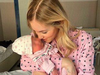 Chiara Ferragni abiti neonati