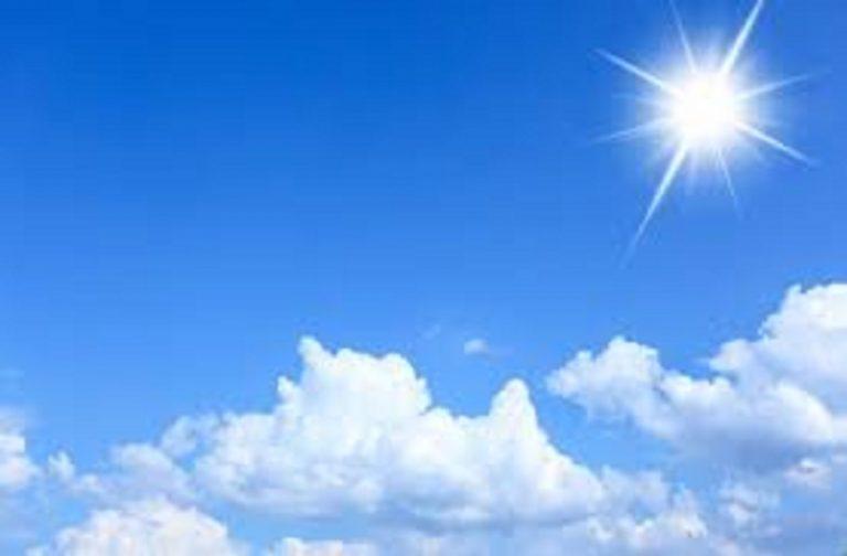 Previsioni meteo: torna il sereno