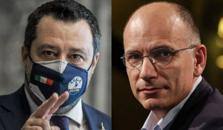 Decreto sostegni Letta Salvini