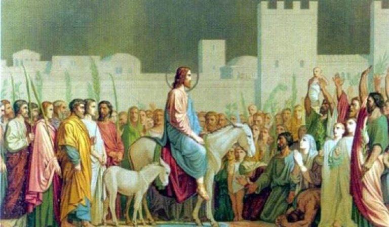 La Domenica delle Palme e il suo significato