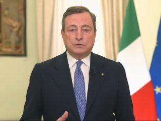 """Draghi sulla situazione sanitaria: """"Si intravede una via d'uscita"""""""