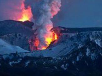 eruzione vulcanica Islanda