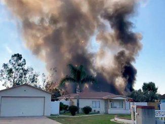 esplosione california