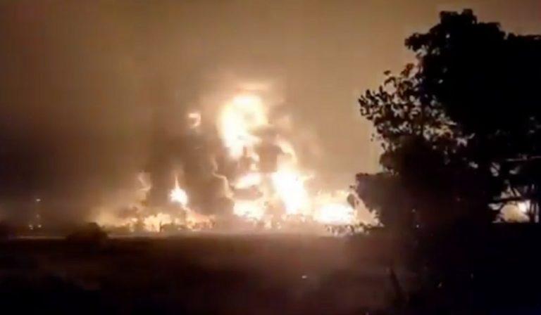 esplosione raffineria indonesia