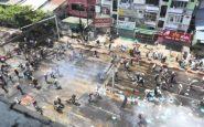 Myanmar, polizia apre il fuoco sui manifestanti: almeno 18 morti