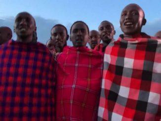 Il rito Olng'esherr dei guerrieri Masai in Kenya