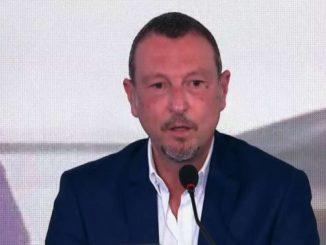Sanremo, Amadeus: lavoratori spettacolo? Si riparta da Sanremo