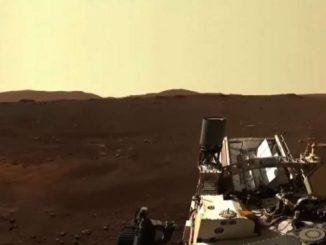 Spazio, Marte a 360 gradi visto dal rover Perseverance della Nasa