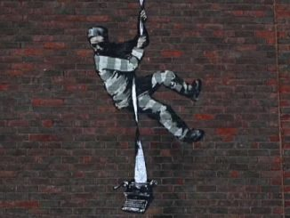 Un detenuto in fuga da Reading, una nuova opera di Banksy?