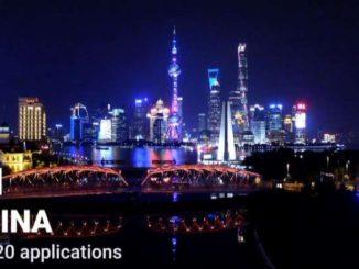 La Cina sempre più prima al mondo per richieste di brevetto