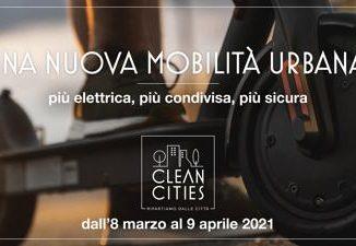 Clean Cities, viaggio in 14 tappe per una nuova mobilità urbana