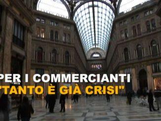 """Napoli verso la zona rossa, i commercianti: """"tanto è già crisi"""""""