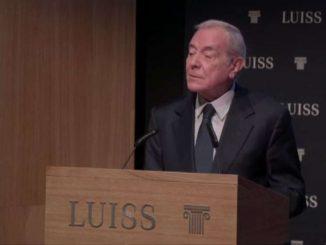 """Futuro dell'etica e diritto a felicità, la """"lectio"""" alla Luiss"""