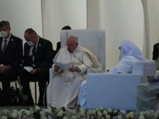 Il Papa in Iraq: preghiamo per l'unità e la pace in Medio Oriente