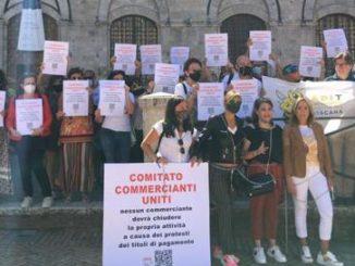 Dl Sostegni: Commercianti uniti, protesta se contributi solo per perdita minima 33%
