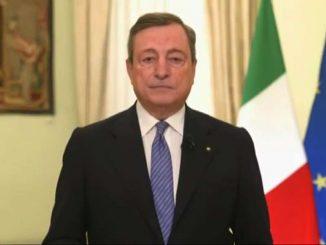 """Covid, Draghi: """"Ogni vita conta, non lasciare nulla di intentato"""""""