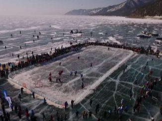 The Last Game sul Bajkal per capire quanto ghiaccio si scioglie