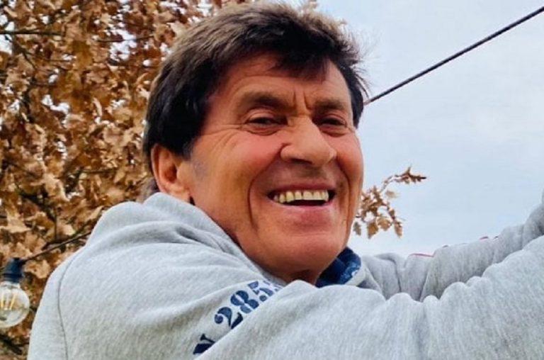 Gianni Morandi mano ustionata