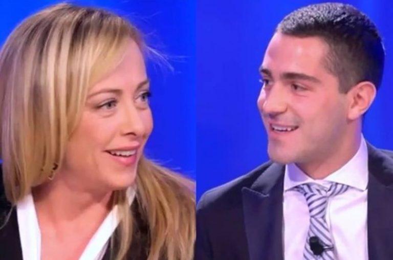 Giorgia-Meloni-Tommaso-Zorzi