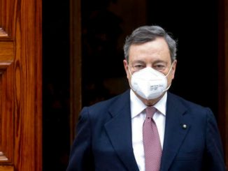 Giornata vittime Covid Draghi