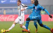 Juventus Napoli si gioca