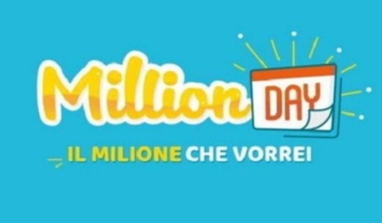 Million Day estrazione 31 marzo