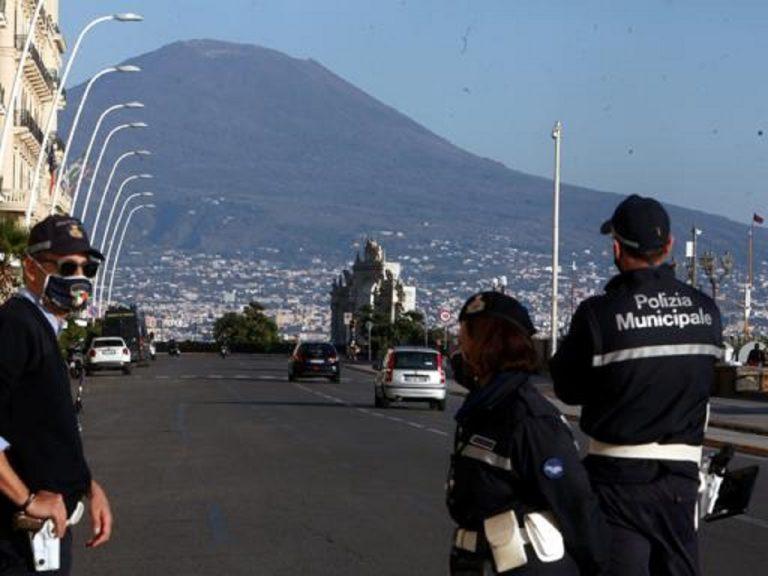 La situazione a Napoli in zona rossa