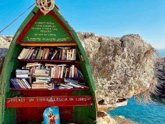 polignano e l'iniziativa di bookcrossing