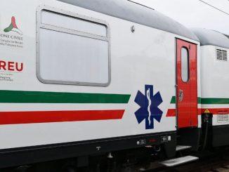 primo treno sanitario trenitalia