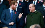 Principe Harry e prncipe Filippo
