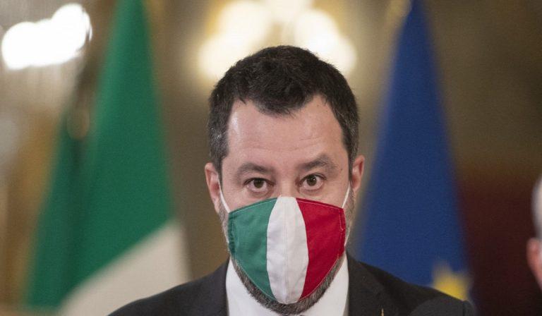 """Matteo Salvini: """"Dpcm? Che sia l'ultimo"""", appello a Draghi"""