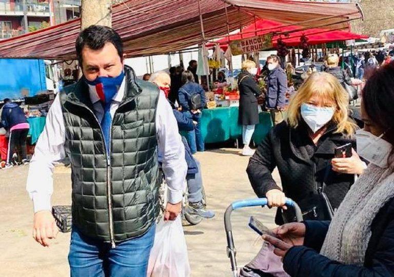 Da lunedì Salvini promette il record di vaccinazioni in Lombardia