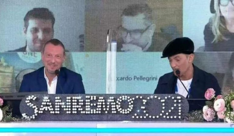 Sanremo conferenza stampa finale
