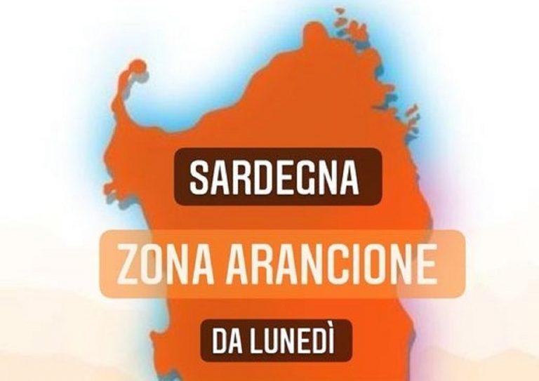 Sardegna da bianca ad arancione, come è successo