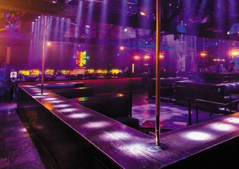 Striptease club New York