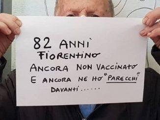 La rabbia di Pierdomenico, ha 82 anni e non è stato vaccinato